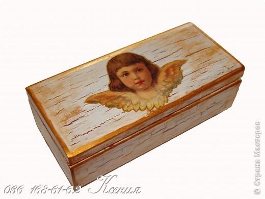 """шкатулка """"Ангел"""" фото 1"""