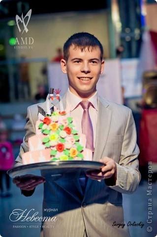Свадебный торт фото 2