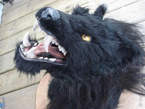 Чтобы <a href=http://vanessalee.ru/?p=1642>джекалопу на стене</a> не было скучно, предлагаю вам еще один трофей из небывалого чудовища. При его изготовлении ни один вервольф не постарадал! фото 3