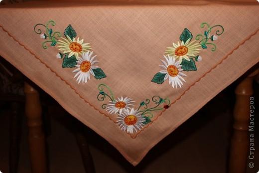 мои первые полотенца. аппликация, вышивка машинная! фото 3