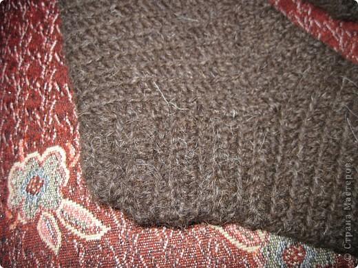 Теплые носки для папы крючком фото 2
