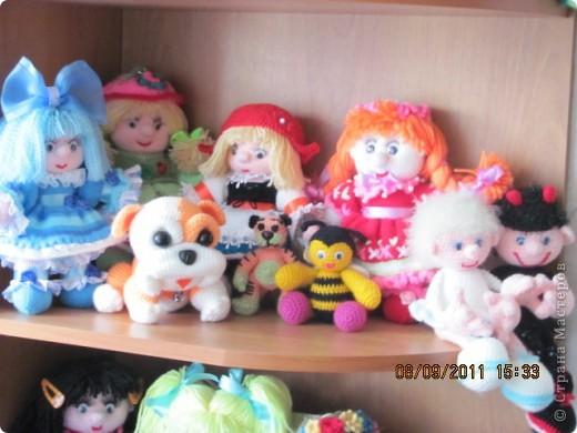 Вот и дождались мои игрушки своего домика. Вы думаете наш домик трехэтажный? Нет, в нем шесть этажей и заселены они полностью. фото 6