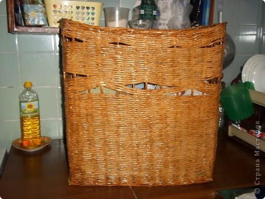 моя первая корзиночка фото 3
