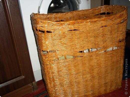 моя первая корзиночка фото 2