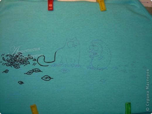 Рисунок на маечке впереди фото 2