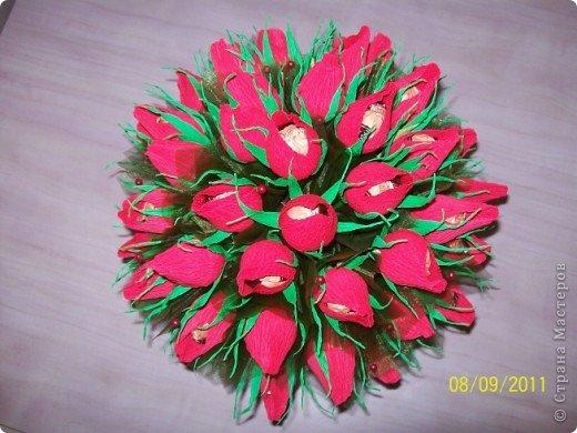 Ура! Наконец-то я сделала бутоны роз и осталась довольна.  фото 3