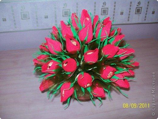 Ура! Наконец-то я сделала бутоны роз и осталась довольна.  фото 4