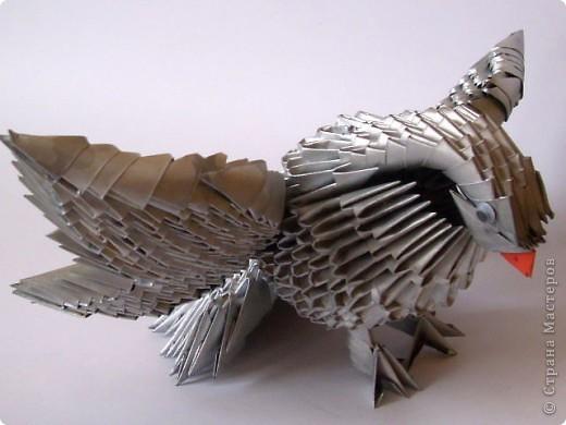 серебряный голубь