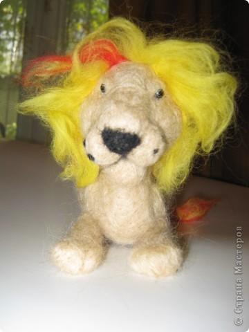 Лев в подарок сыну подруги фото 1