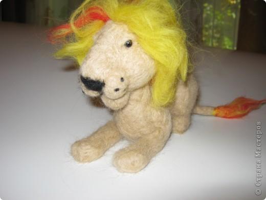 Лев в подарок сыну подруги фото 2