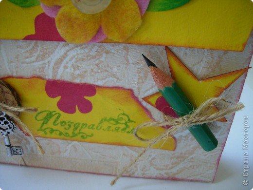 В одном из блогов был МК по созданию упаковки - портфеля. Вот мой.  фото 7