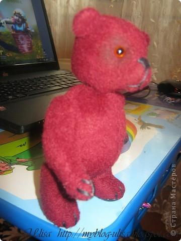 Мой первый мишка Тедди - Арлекино ! фото 1