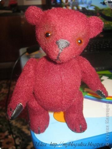 Мой первый мишка Тедди - Арлекино ! фото 2