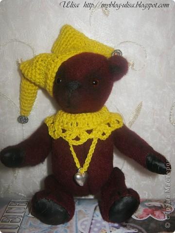 Мой первый мишка Тедди - Арлекино ! фото 4
