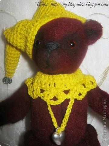 Мой первый мишка Тедди - Арлекино ! фото 5