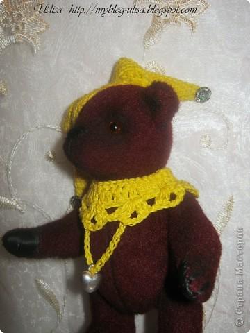 Мой первый мишка Тедди - Арлекино ! фото 6