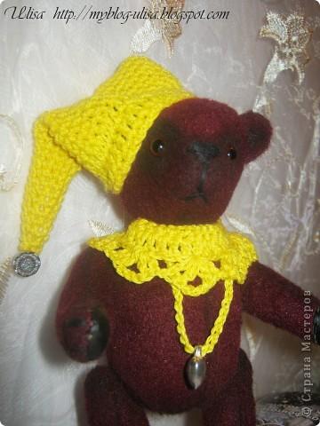 Мой первый мишка Тедди - Арлекино ! фото 7
