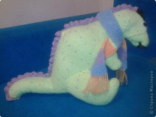 Вот такой динозаврик живет у нас!  фото 1