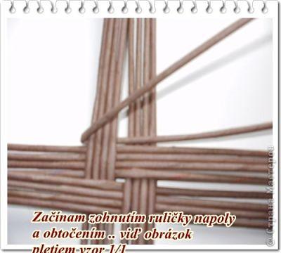 """Вот такая вот получилась плетенка, которая, как и все предыдущие """"ушла"""" в подарок! Высота - 25 см, диаметр дна - 25 см, диаметр в широком месте - 45 см....  фото 7"""