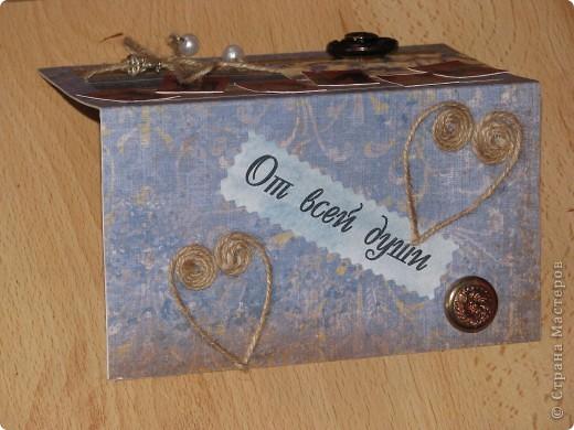 Подарок для подружки (открытка + рамочка для фото) фото 11
