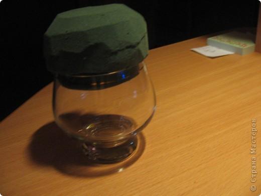 Мой букет на бокале для виски. фото 2