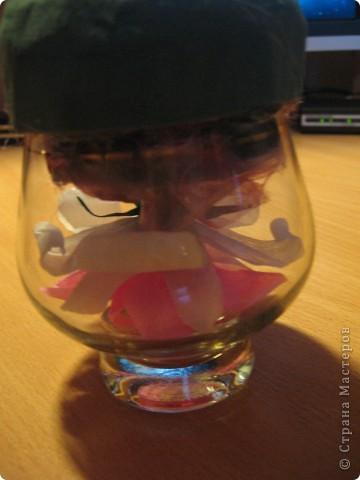 Мой букет на бокале для виски. фото 3