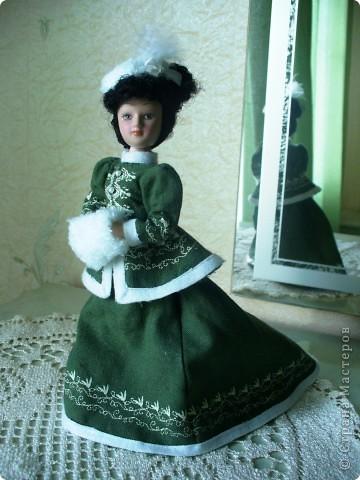 Новая героиня от ДэА - Анна Каренина. Оставить ее в первозданном виде я тоже не смогла.  фото 1