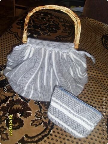 эту сумку вязала для себя,на зиму. фото 4