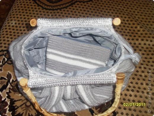эту сумку вязала для себя,на зиму. фото 5