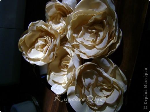 Букет из ракушек-свадебный №2(кремовый)+ бутоньерка фото 5