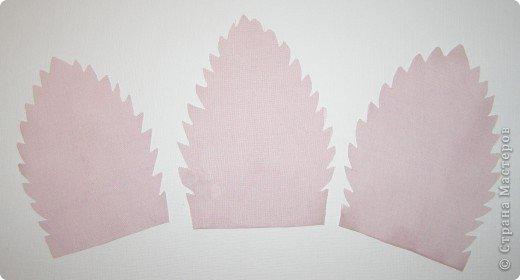 Хочу рассказать вам,  как можно сделать такой цветок легко и просто. Для этого нам понадобится: -игла для валяния (тонкая), -шерсть для валяния, -высокую губку (я использую губку для мойки авто), - лоскут креп-шифона для листочков,  -линейку, -степлер, -английскую булавку, -ароматическую или бамбуковою палочку -лист картона.  фото 26