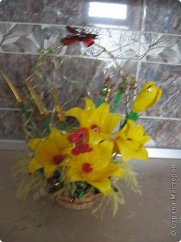 Освоила новые для меня цветочки. фото 8