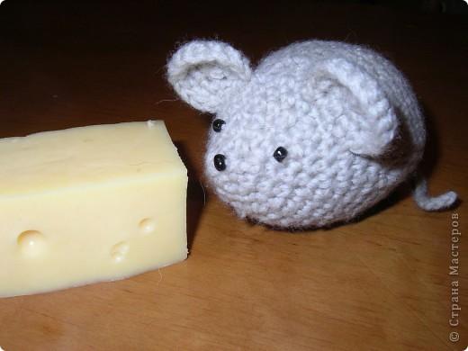 Мышка Вязание крючком.