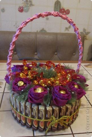 Корзинка- тортик фото 1