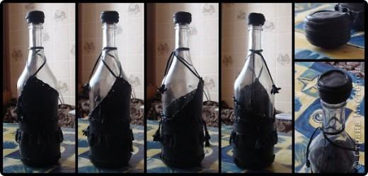Набор из двух стаканов и бутылки  фото 11