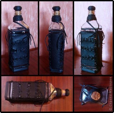 Набор из двух стаканов и бутылки  фото 12