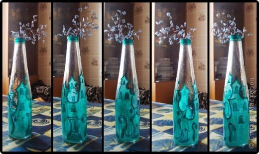 Набор из двух стаканов и бутылки  фото 4