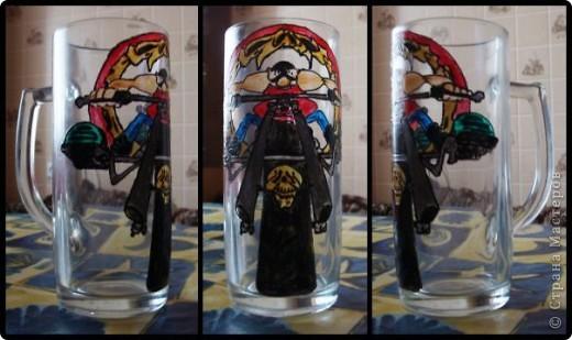 Набор из двух стаканов и бутылки  фото 9