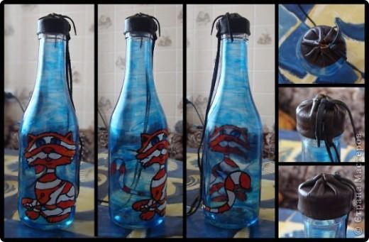 Набор из двух стаканов и бутылки  фото 7