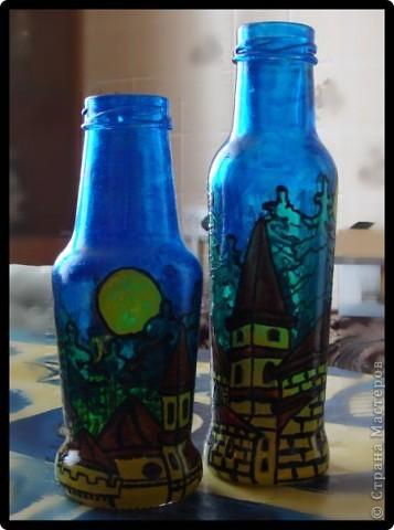Набор из двух стаканов и бутылки  фото 8