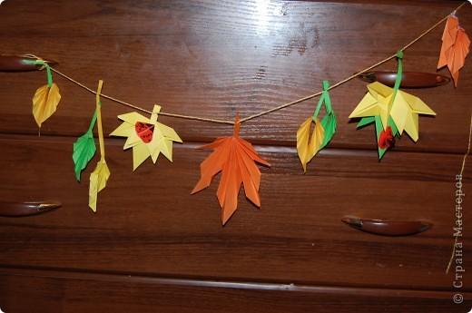 осеннее дерево.делали с дочками 5 и 3 года в садик фото 2