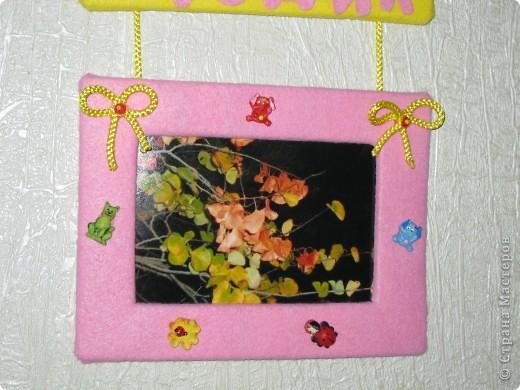 Рамочки сделала для подруги, ее дочке исполняется годик. фото 5