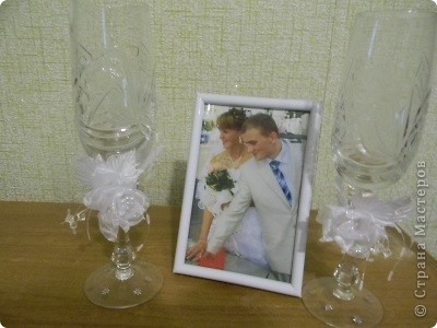 Мои свадебный бокалы фото 1