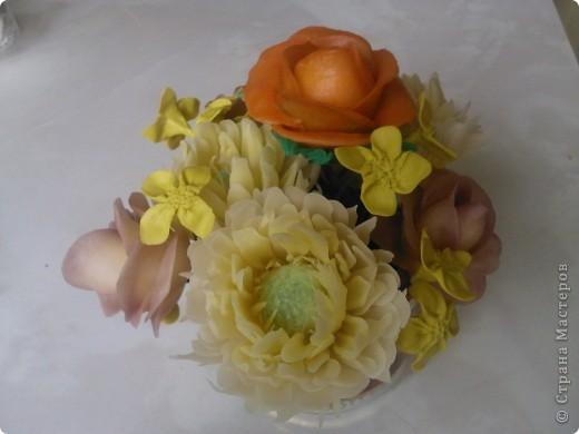 Цветы из ХФ фото 1
