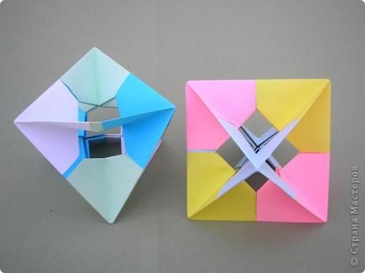 Привет всем! Я уже писала раньше, что тоже потихоньку приседаю на геометрию! Возможно это неизбезность кусудамотворчества, а может и его предшествиница. Вот, что можна сотворить, для разгрузки мозга! фото 2
