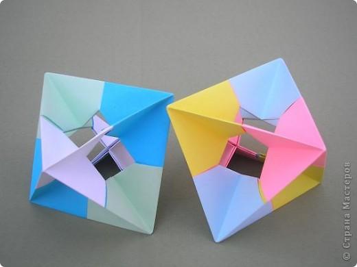 Привет всем! Я уже писала раньше, что тоже потихоньку приседаю на геометрию! Возможно это неизбезность кусудамотворчества, а может и его предшествиница. Вот, что можна сотворить, для разгрузки мозга! фото 4