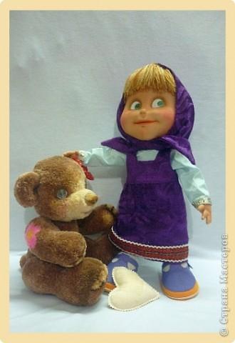 """Маша. Из мультфильма """"Маша и медведь"""" фото 8"""