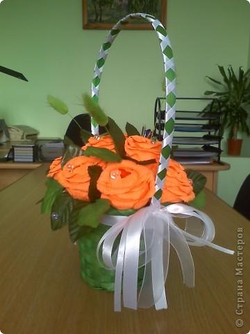 у сотрудницы день рождения. вот решила ей подарить кусочек летнего настроения ))) фото 3