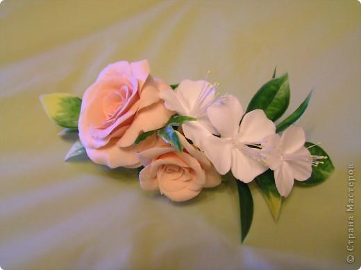 Роза и жасмин фото 1