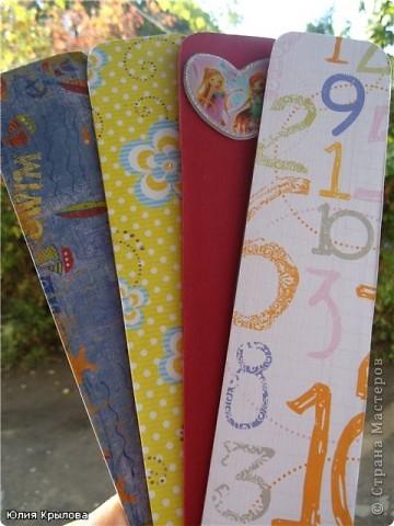 Необходимость дочки в школе в закладках и вдохновило на их создание. фото 1